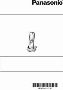 Panasonic Cordless Telephone Kx