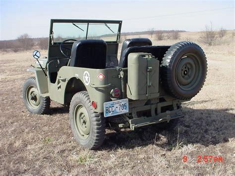 1947 Willys Jeep CJ2A for sale