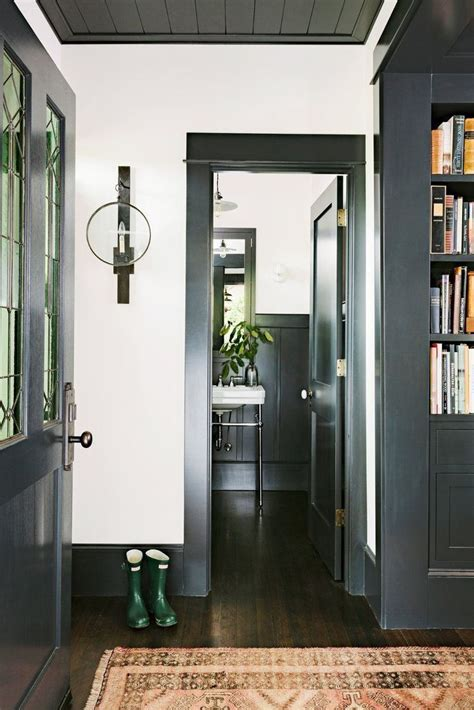 best 25 white trim ideas on hallway paint