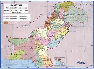 Pakistan Map Political Regional - Maps of Asia Regional Political City Pakistan