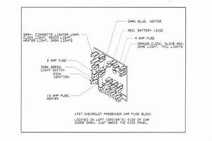 1957 Chevy Bel Air Fuse Box Location  Harness  Auto Wiring Diagram