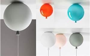 Plafonnier Chambre Bébé : lampe enfant ballon plafonnier chambre b b et enfant lampe design suspension ballon ~ Teatrodelosmanantiales.com Idées de Décoration