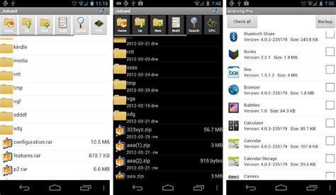 android zip descomprimir archivos en android