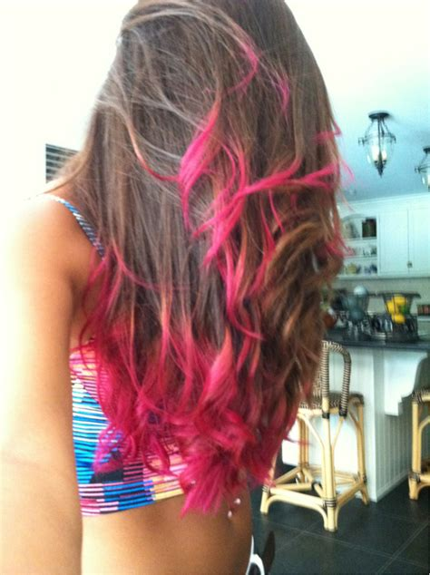 1000 Ideas About Pink Dip Dye On Pinterest Colored Hair