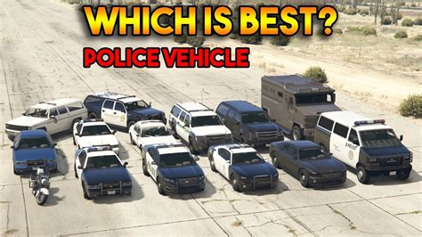Which Is Best Police Vehicle? (all Police
