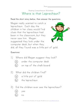 childrens short stories  questions  answers story