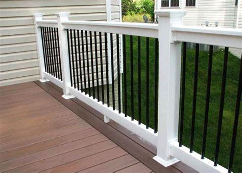 white vinyl railing kits thehrtechnologist
