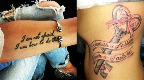 inspirational tattoos design ideas styles  life