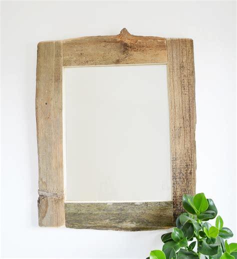 diy spiegel mit holzrahmen selber machen