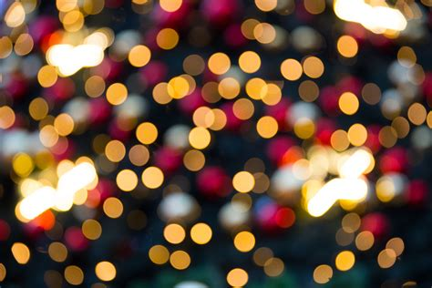 Christmas Lights Computer Wallpaper Xmas Bokeh Lights Free Photo Iso Republic