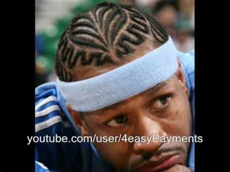 allen iverson  hair cut youtube