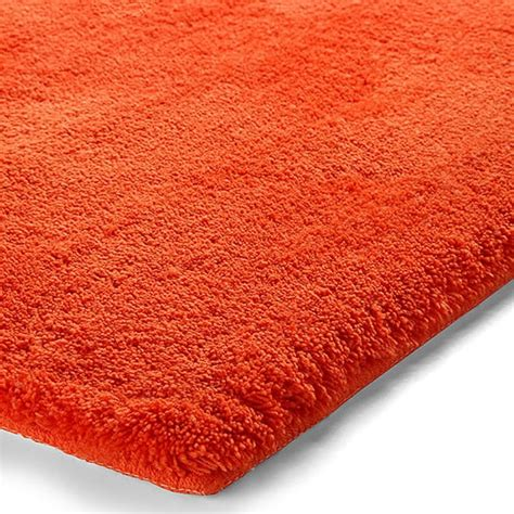 tapis de bain event orange esprit home 55x65