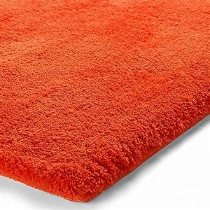 tapis de bain event orange esprit home 55x65 With tapis de bain orange