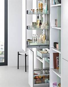 38 Smart Concealed Kitchen Storage Spaces - DigsDigs