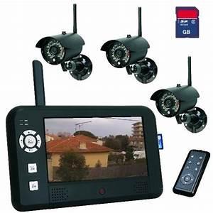 Camera Wifi Exterieur Sans Fil : cameras de surveillance ~ Dailycaller-alerts.com Idées de Décoration