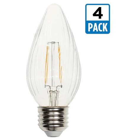 westinghouse 25w equivalent clear f15 dimmable filament