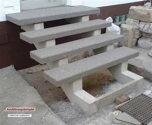 Außen Treppenstufen Beton : freitragende treppe ausf hrungsbeispiel betonwerkstein ~ Michelbontemps.com Haus und Dekorationen