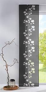 Klettband Für Gardinen : fl chenvorhang schiebegardine mit klettband ausbrenner stoff 856100 ~ Orissabook.com Haus und Dekorationen