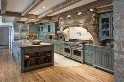 warm cozy rustic kitchen designs   cabin