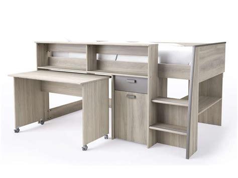 lit combiné bureau conforama lit mezzanine greg conforama table de lit a roulettes
