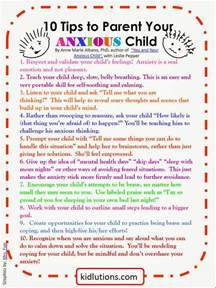10 Tips to Parent Your Anxious Child