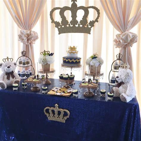 royal themed baby shower ideas 25 b 228 sta royal prince id 233 erna p 229 pinterest dekorationer babyshower och bordsdekorationer f 246 r