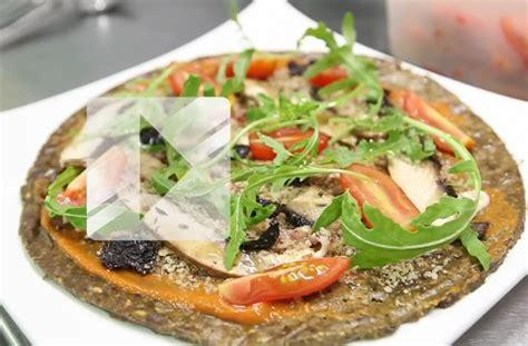 recette cuisine crue recette la pizza crue du restaurant 42 degrés