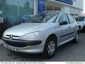 206 1 9 D : peugeot 206 1 9 d xr pr sence 5pt 2001 occasion auto peugeot 206 ~ Gottalentnigeria.com Avis de Voitures