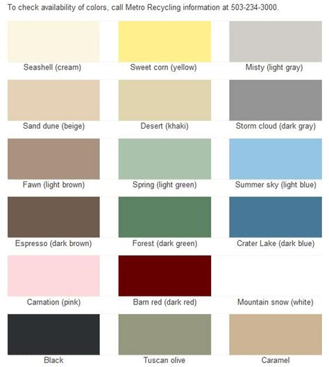 metro paint color chart for mixing house paint ideas in