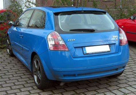 Fiat Stilo Abarth by File Fiat Stilo Abarth 20090328 Rear Jpg