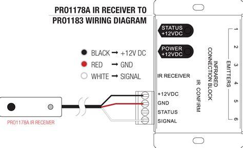 Xantech Ir Receiver Wiring Diagram by Pro2 Pro1183 Ir Repeater Kit Radio Parts Electronics