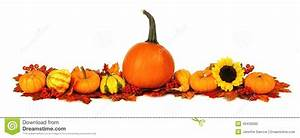 Autumn border stock photo Image of decorate, agriculture