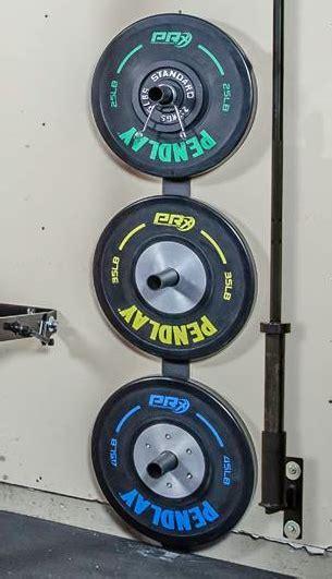 weight plate storage  home gym equipment