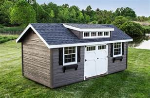 the heritage prefab garden shed woodtex