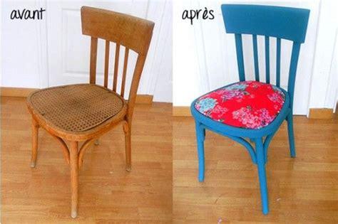 Relooker Une Chaise En Bois Avec Ce Diy Proposé Par L
