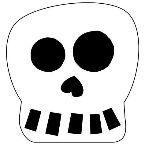 Free Printable Halloween Skull Decoration Banner Paper