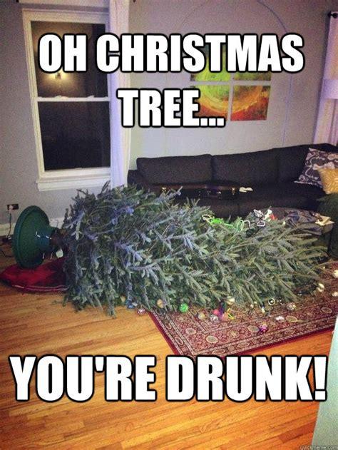 drunk christmas tree memes quickmeme