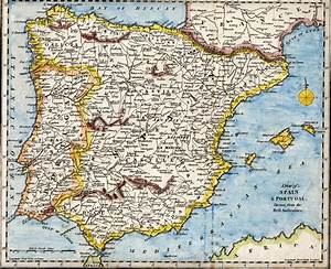 Spain Middle Ages Map