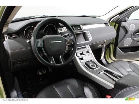 evoque land rover interior 2012 land rover range rover evoque coupe dynamic interior