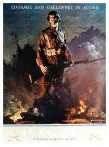 WWII U.S. Army Engineer Poster