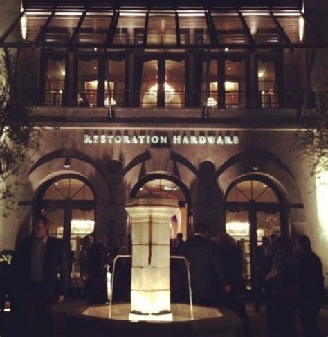 restoration hardware store the gallery at scottsdale