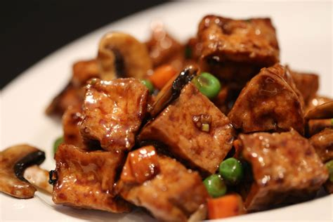 fried tofu spicy dry fried tofu shandong restaurant