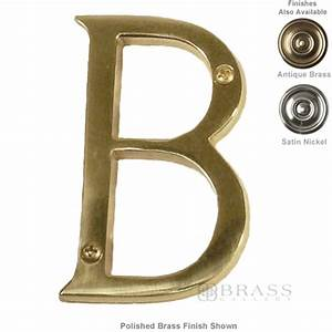 brass accents traditional letter b 4quot brass gallery With 4 brass letters