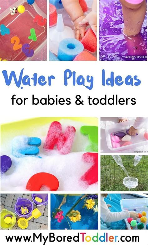 easy water play ideas  babies  toddlers infant