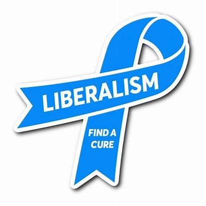 Cure Liberalism Sticker Maga Revscene Stickers Automotive
