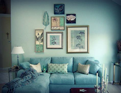 Amazing Of Blue And Green Living Room Inspiration On Blue #4021