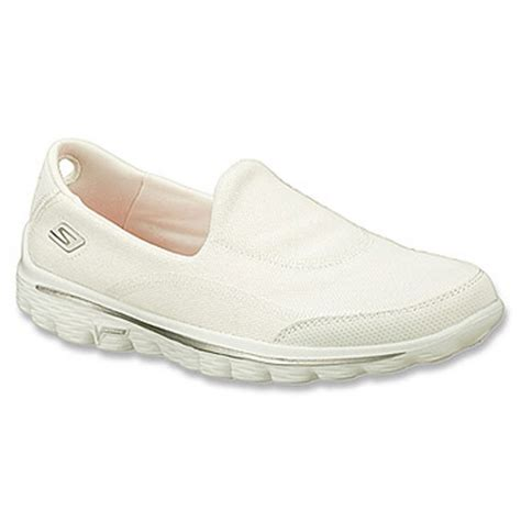 white k swiss womens shoes skechers skechers go walk 2 fresco cnv white n24 13949