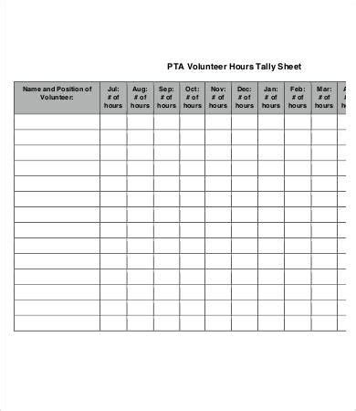 Tally Sheets Election Tally Sheet Template 2 Table Tally Tally Sheet Template 10 Free Word Pdf Documents