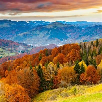 Fall Wallpapers Mountain Nature Tree Fun Ipad