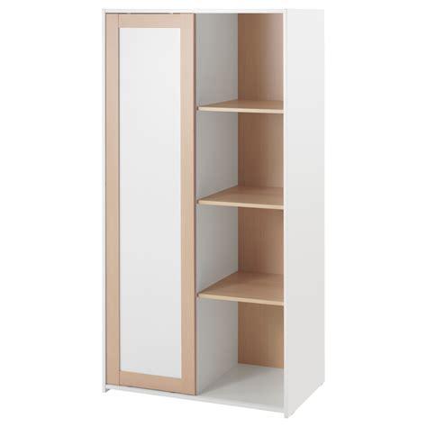 Armoire Profondeur 40 by Sniglar Wardrobe Beech White 81x50x163 Cm Ikea